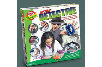 Active Detective | The Complete Kids Detective Kit | Ages 8+
