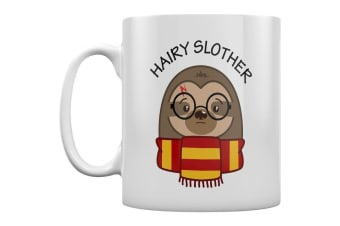 Grindstore Hairy Slother Mug (White)