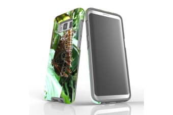For Samsung Galaxy S8 Case Armour Cover  Butterfly Leaf