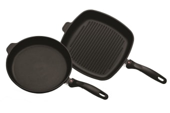 Swiss Diamond XD Induction Grill 28cm and Frypan 28cm