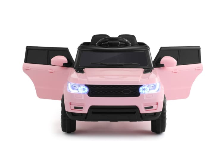 Kids Range Rover-Inspired Ride-On Car (Pink)