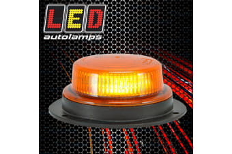 LED BEACON, WITH ROTATING PATTERN. 130MM X 53MM, SAE J845 CLASS 3, 10-30VOLTS.