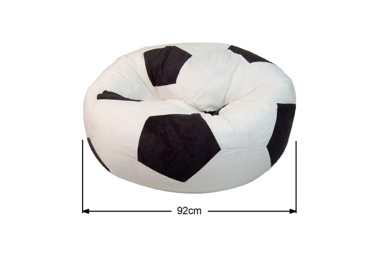 Football Soccer Ball Bean Bag Chair