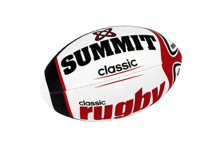 Summit Classic Match Rugby Size 5  w/Ball/Tee/Pump Set Play/Game Kids/Boys/Sport