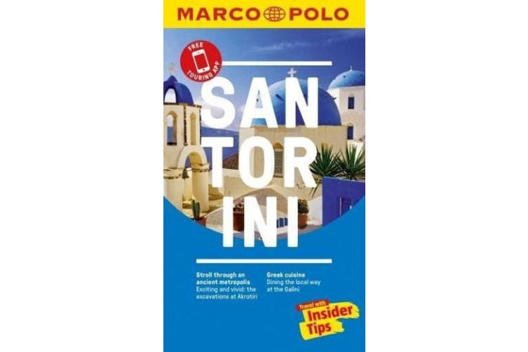 Santorini Marco Polo Pocket Travel Guide 2018 - with pull out map