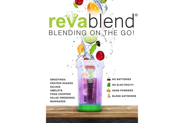 RevaBlend Portable Non-Electric Blender