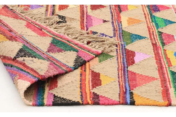 Marlo Naturl Jute and Cotton Rug 320x230cm
