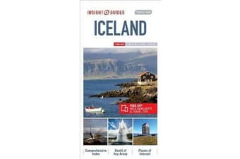Insight Guides Travel Map Iceland