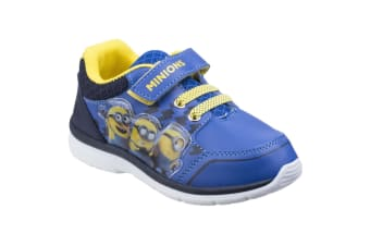 Leomil Childrens Boys Official Minions Shoes/Trainers (Blue/Navy)