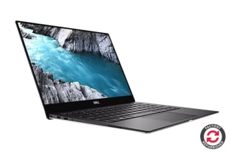 "Dell XPS 13 9370 13.3"" 4K UHD Touch Screen Laptop (i7-8550U, 8GB RAM, 256GB, Silver) - Certified Refurbished"