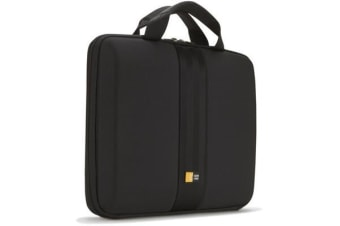 "Case Logic EVA Case for 11.6"" Chromebooks/Ultrabooks - Carrying Handle - Black"