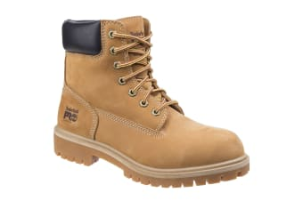 Timberland Unisex Adults Pro Direct Attach Lace Up Safety Boots (Wheat) (4 UK)