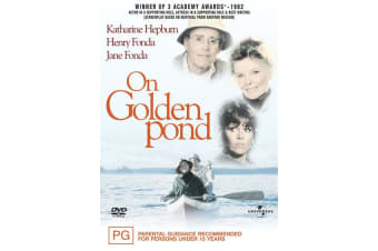 On Golden Pond DVD Region 4