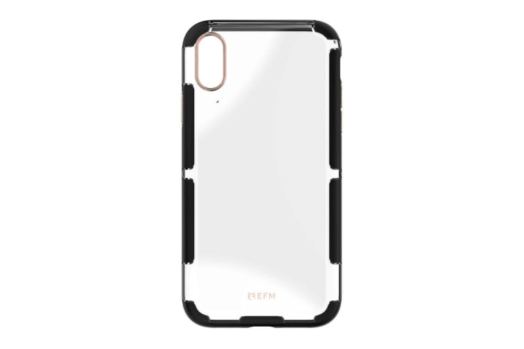 EFM Cayman D3O Armour Case Cover Protection for Apple iPhone XS Max Black/Copper