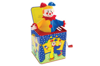 Schylling Jester Jack In the Box Baby/Infant/Kids 18m+ Clown Musical Pop Up Toy