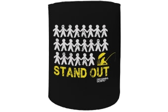 123t Stubby Holder - DW stand out fishing FISHING - Funny Novelty