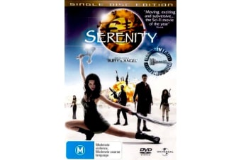 SERENITY - Joss Whedon - Rare- Aus Stock DVD PREOWNED: DISC LIKE NEW