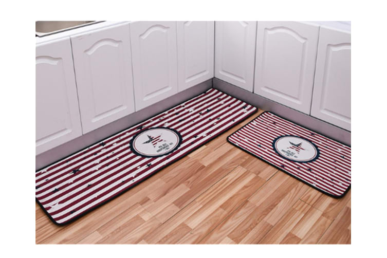 Non-Slip Kitchen Floor Mat Doormat Runner Rug - 1 , 40*120Cm
