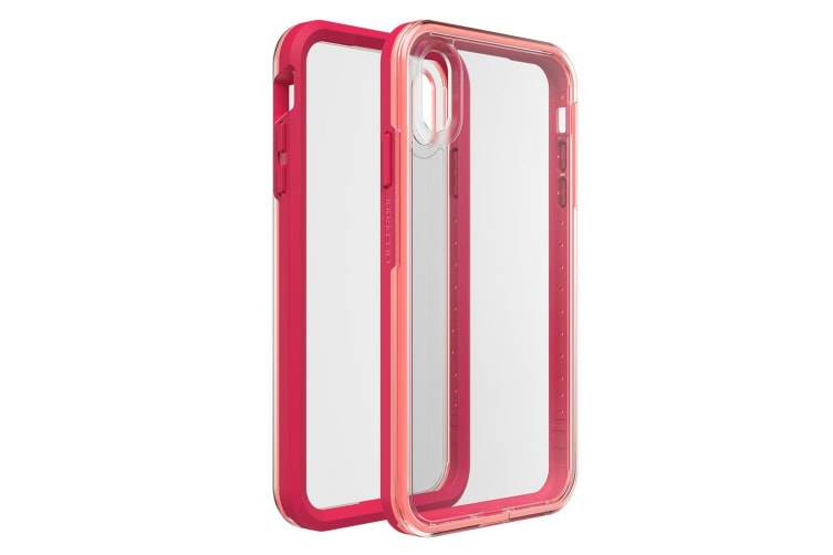 LifeProof Slam Rugged Case/Cover Drop Proof for iPhone Xs Max/Clear/Coral Sunset