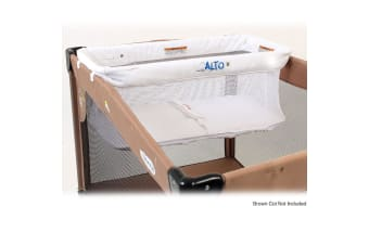 Vee Bee Alto White Newborn/Baby Bassinet/Hammock for Most Portable Cot/Commuter