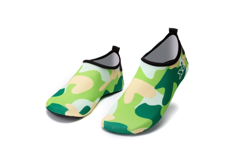 Womens and Mens Water Shoes Barefoot Quick-Dry Aqua Socks for Beach Swim Surf Yoga Exercise XXXL