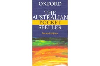 The Australian Pocket Speller