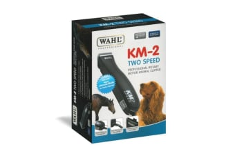 WAHL KM-2 Two Speed Pet Clipper Kit for Dog Grooming