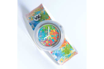 #365 - Paint Splatter - Watchitude Slap Watch