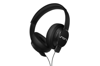 Sol Republic Master Tracks Over-Ear Headphones/Headset Mic for iPad/iPhone Blk