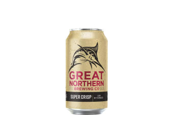 Great Northern Brewing Co Super Crisp Lager 375ml Can 375mL Case of 24