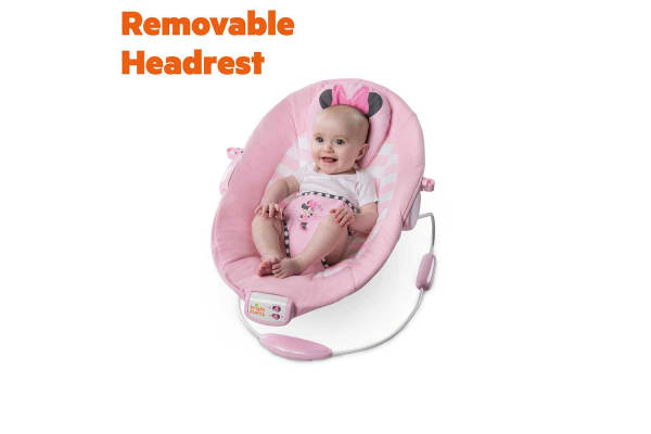Bright Starts Minnie Mouse Blushing Bows Bouncer