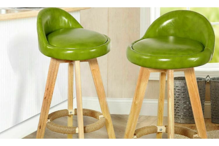 Awe Inspiring 2X Levede Fabric Swivel Bar Stool Kitchen Stool Dining Chair Barstools Cream Cream Fabric Squirreltailoven Fun Painted Chair Ideas Images Squirreltailovenorg