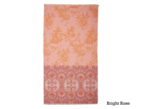 Cotton Digital Print Large Towel Bright Rose by Oilily