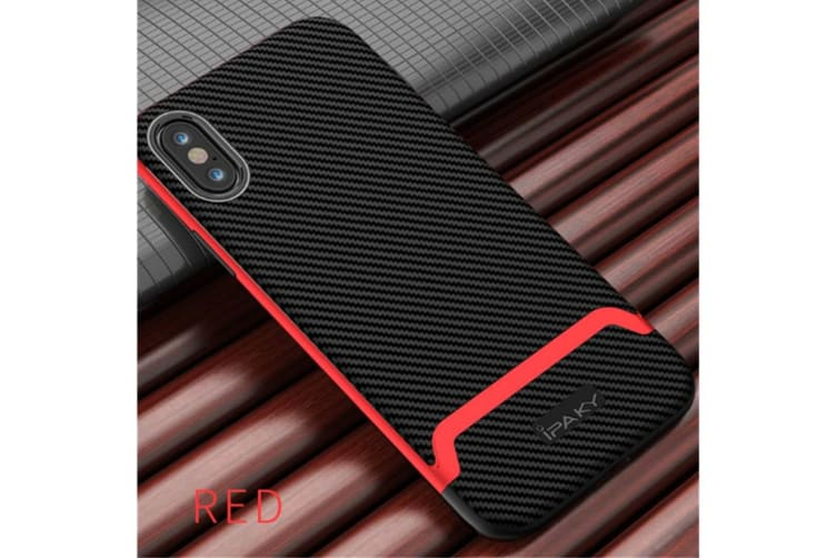 Ultra Thin Hard Slim Cover World'S Thinnest Protect Bumper Slim Fit Shell For Iphone Red Iphonexs Max(6.5 Inch)