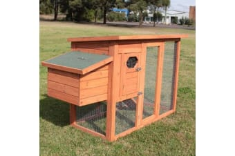 Chicken Coop Nesting Box Hen House Poultry Hutch Cage