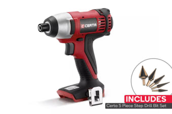 Certa PowerPlus 18V Cordless Impact Driver (Skin Only) Combo