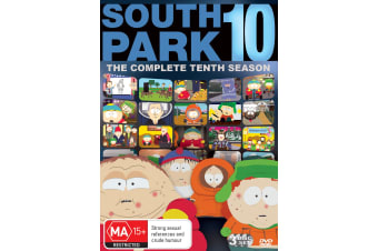 South Park Series 10 DVD Region 4