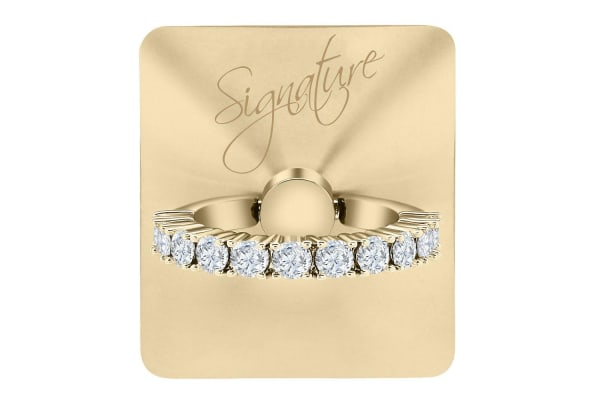 GPEL Signature Gold Allur Ring & Stand w/ Swarovski Crystal for Smartphones
