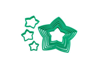 Avanti Star Christmas Tree Cookie Cutter Set 10pc