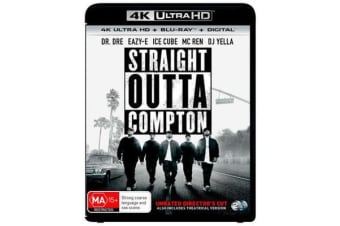 Straight Outta Compton (4K UHD/Blu-ray/UV)