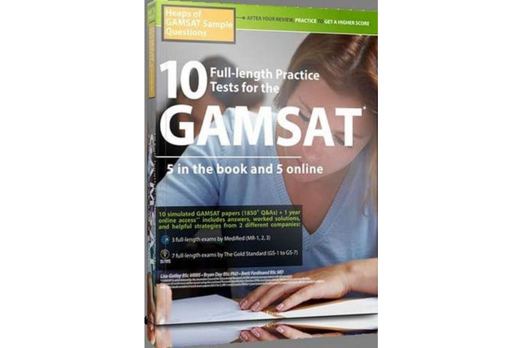 Heaps of GAMSAT Sample Questions