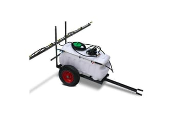 Weed Sprayer 100L Tank with Trailer with 3m Boom