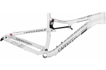 Cannondale Scalpel 29er ALLOY Mountain Bicycle Frame White Size L