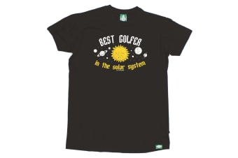 Out Of Bounds Golf Tee - Best Golfer In The Solar System Mens T-Shirt