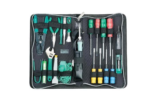 ProsKit Personal Computer Tool Kit With GAS Soldering Iron (8PK-101-2) 20Pcs For Desktop Server / 2