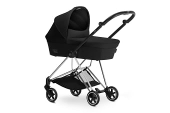 Cybex Mios Frame & Carry Cot Star Dust Black