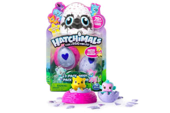 Hatchimals Colleggtibles - 2 Pack with Nest