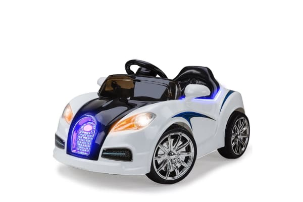 Kids Ride On Electric Car Bugatti Style Battery Children Sports Toy Remote