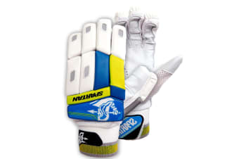 Spartan Cricket MC Pup Batting Glove Small Boys Left Handed/Sheep Leather/PVC