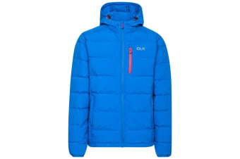 Trespass Mens Crane DLX Down Jacket (Blue) (M)